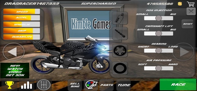 Drag Bikes - Motorbike edition on the App Store