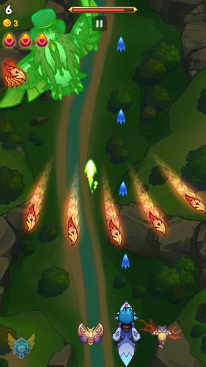 Sky Champ: Monster Attack screenshot-5