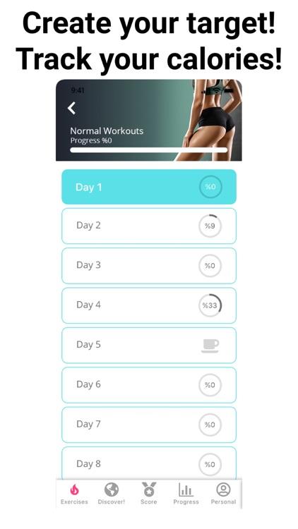 Leg Workouts - Lower Body Burn screenshot-4