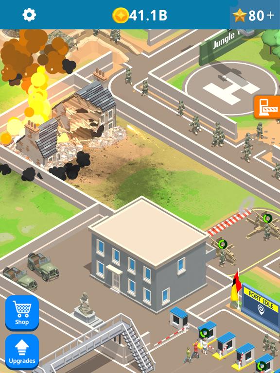 Idle Army Base screenshot 7
