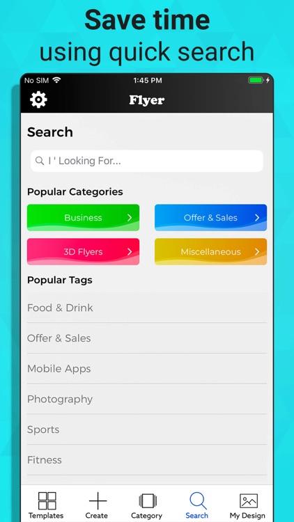 Flyer Maker - Graphic Designer screenshot-5