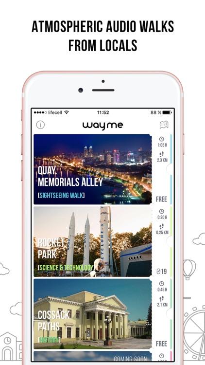 wayme: top audio walking tours