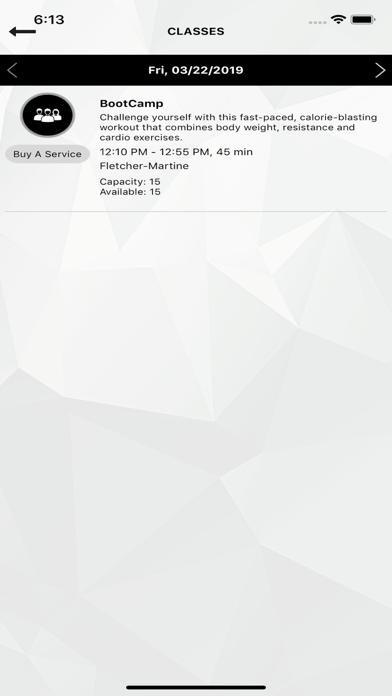 AeroCentre Fitness app image