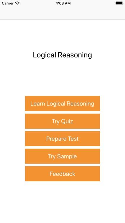 Logic Reasoning Quiz