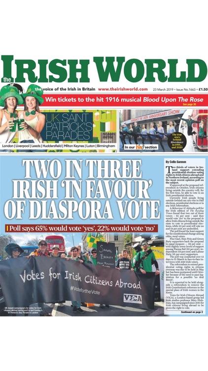 Irish World Newspaper screenshot-4
