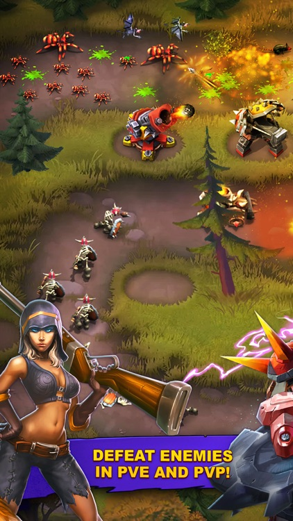 Goblin Defenders 2:Guns&Heroes screenshot-0