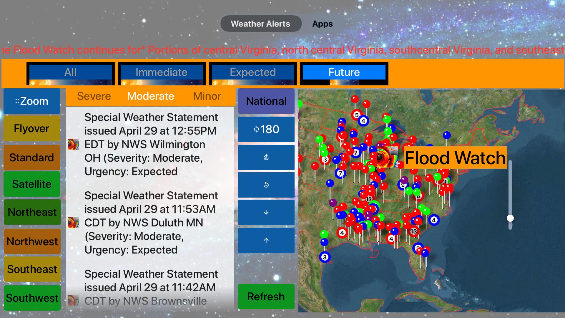 Instant NOAA Alerts 3D Lite screenshot 18