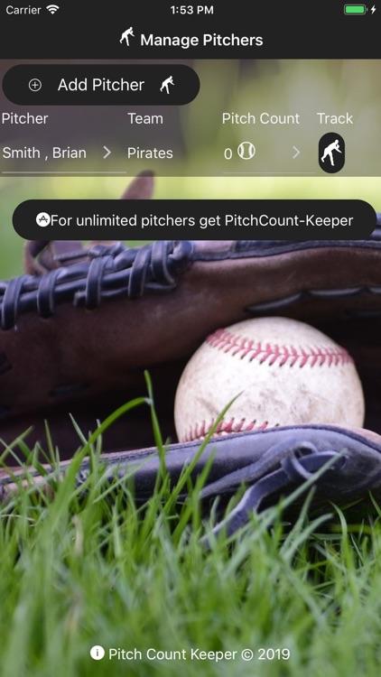 PitchCount-Keeper-Lite