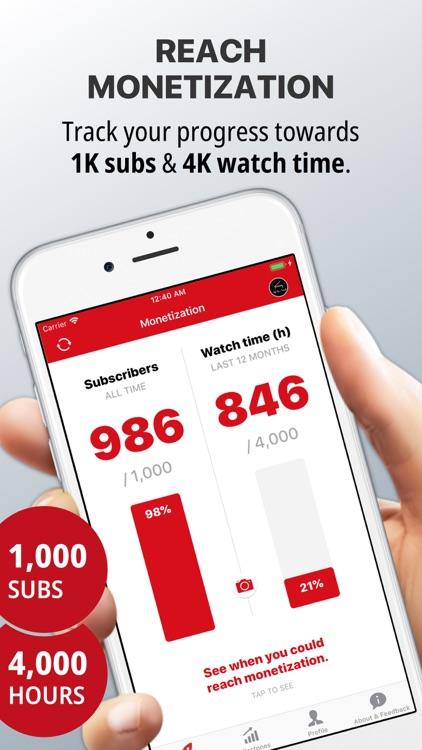YT Tracker for YouTube screenshot-0