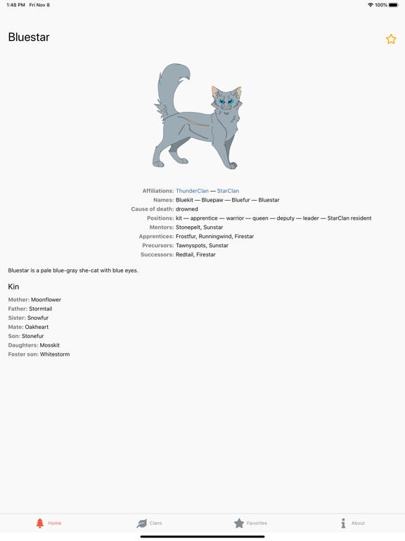 Warriors Characters screenshot 7