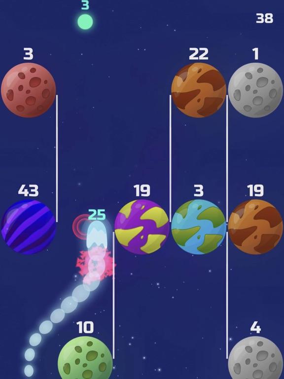 Comets vs Planets! screenshot 11