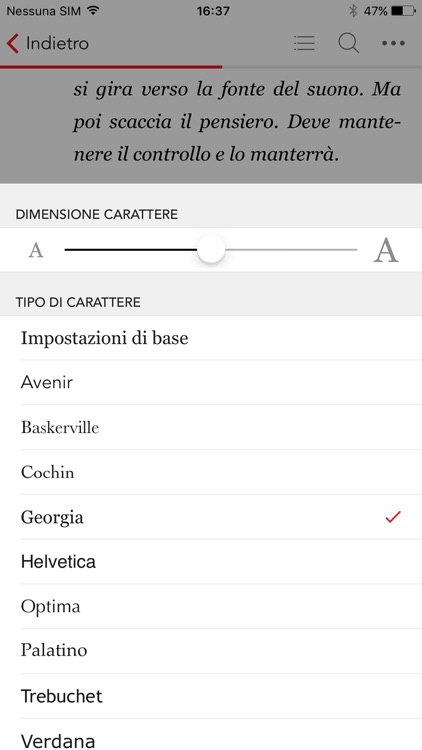 La Feltrinelli Kobo screenshot-2