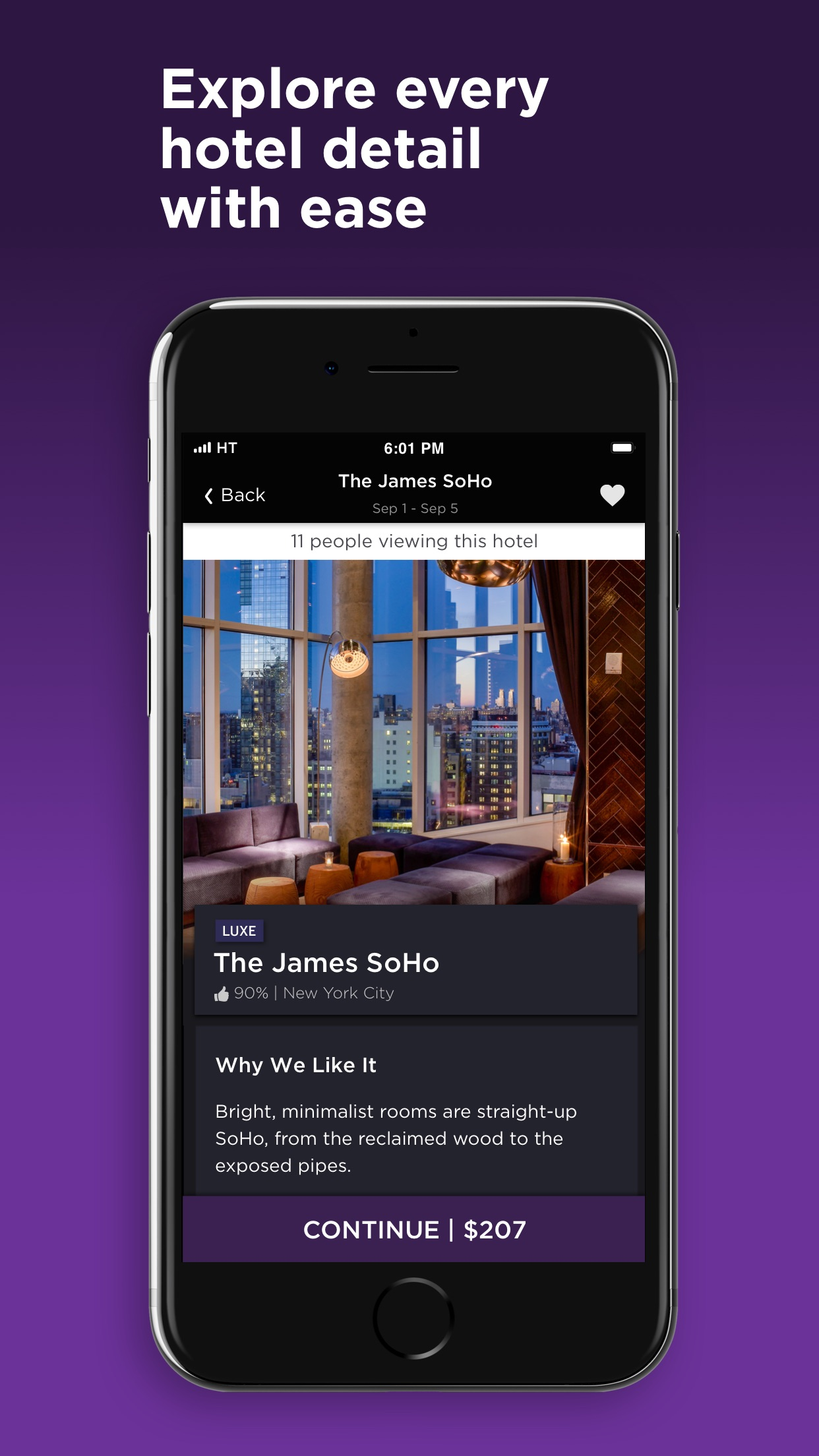 HotelTonight - Hotel Deals Screenshot