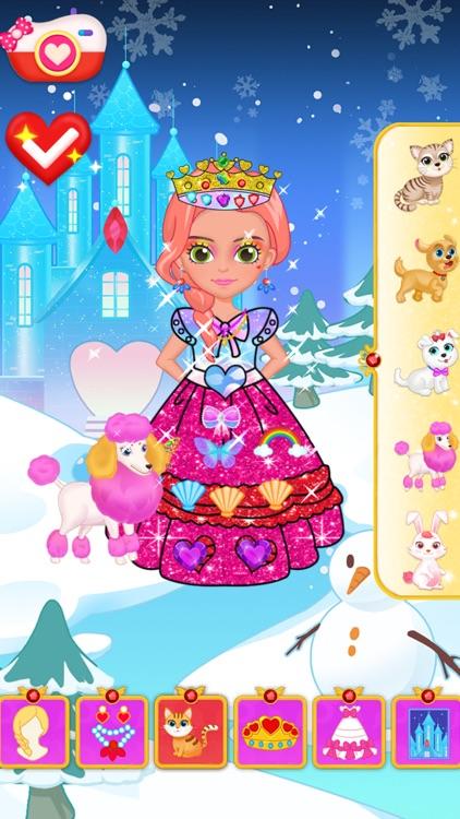 Princess Makeup Dress Design screenshot-0