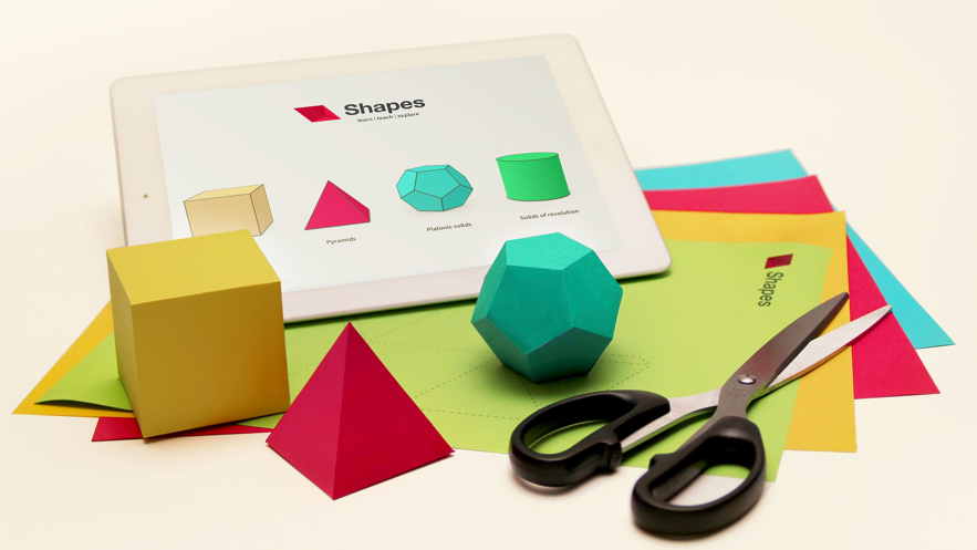 Shapes - 3D 立体学习模型 App 截图