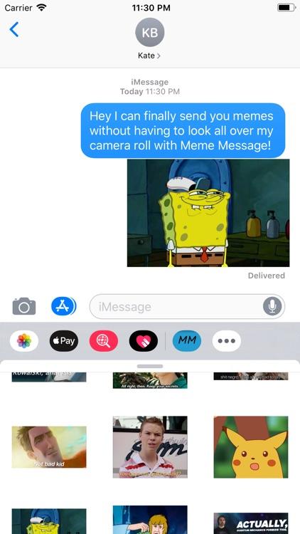 Meme Message
