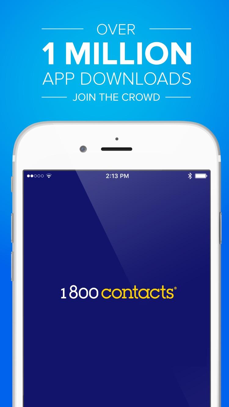 1-800 Contacts Screenshot