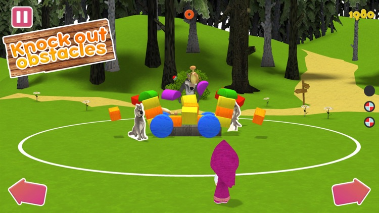 Masha and the Bear:Ball game3D screenshot-4