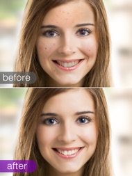 Visage Lab PROHD photo retouch ipad images