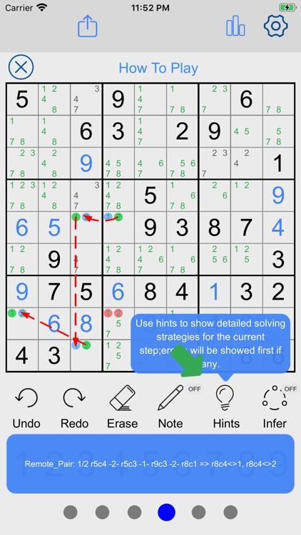 Sudoku Player - Number Puzzles screenshot-3