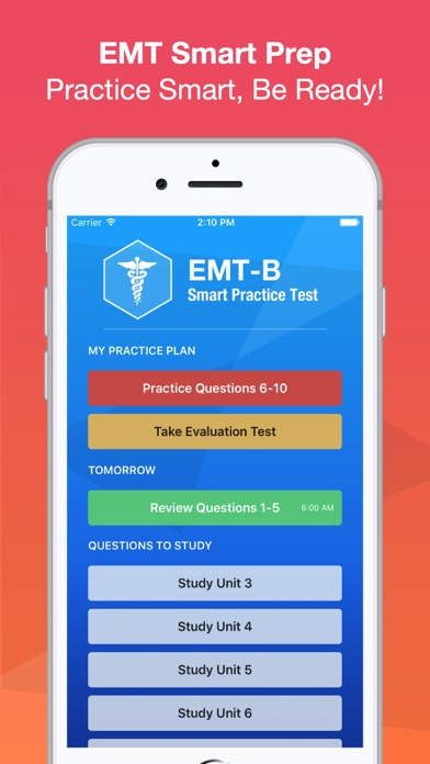 EMT Basic Exam Smart Prep + screenshot one