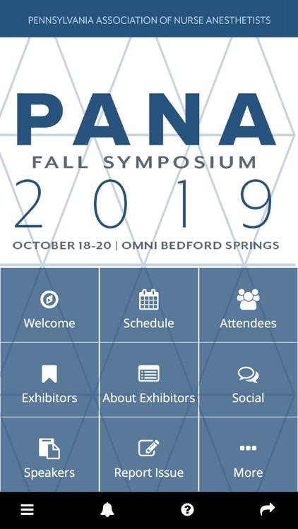 PANA Symposiums