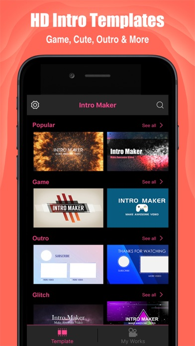 Intro Maker- yt intro designer - App Download - Android Apk App Store