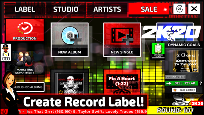 Music Label Manager 2K20 screenshot 2