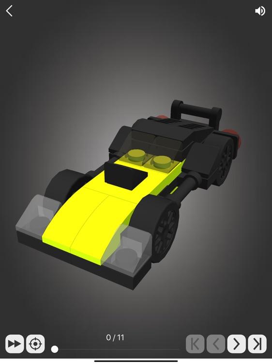 Brick Junior: Racing Cars screenshot-3
