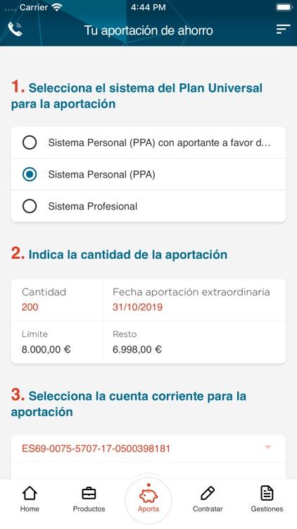 Mutualidad Abogacía screenshot-3
