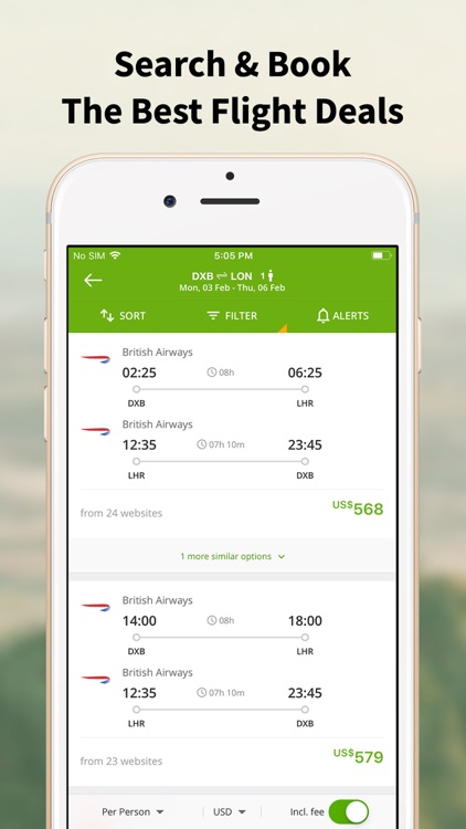 Wego Flights & Hotels Booking screenshot-3