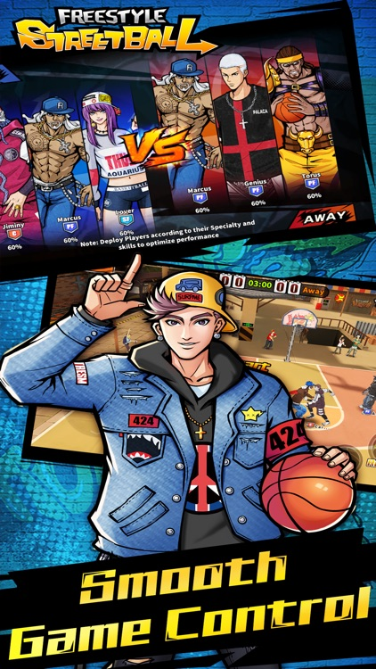 3on3 Freestyle Basketball screenshot-3