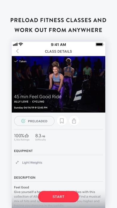 Peloton — Guided Workouts Screenshot