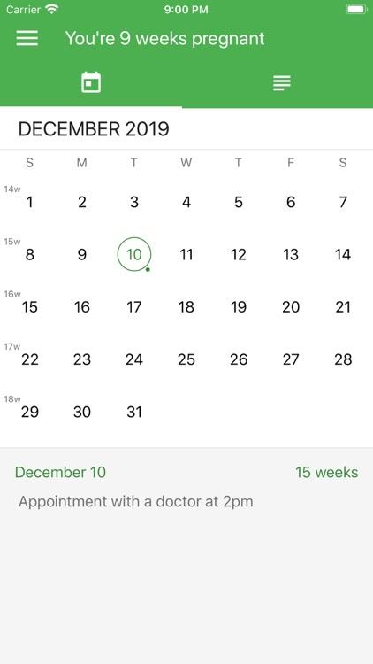 Pregnancy App. screenshot-4