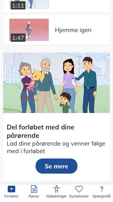 Screenshot for Mit Forløb in Denmark App Store