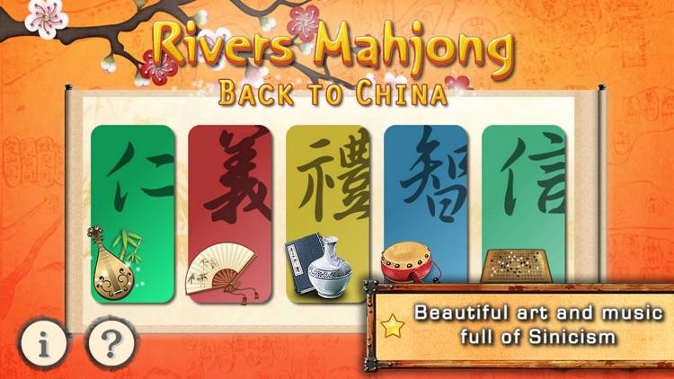 Rivers Mahjong: China screenshot-0
