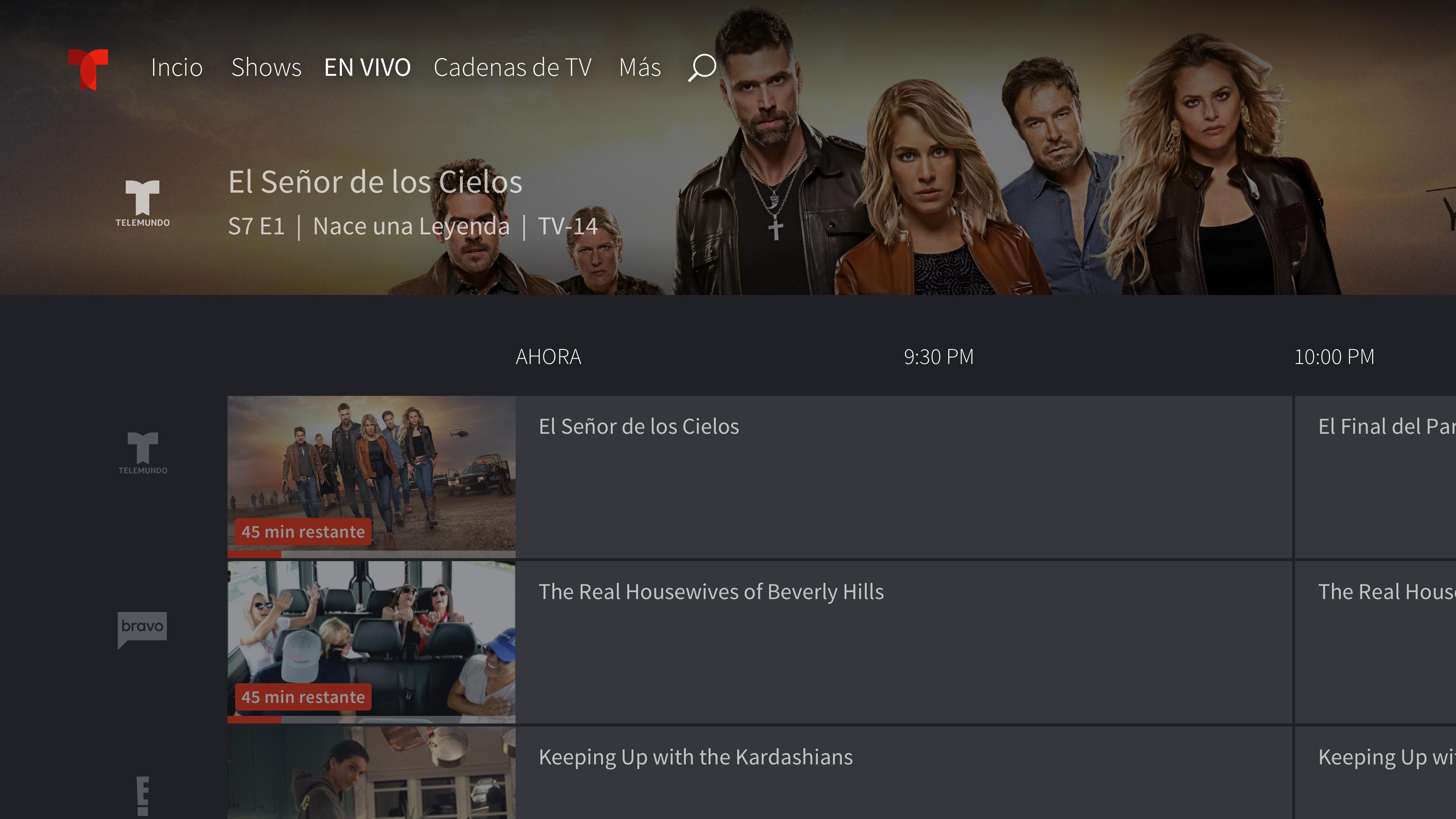Telemundo–Capítulos Completos screenshot 12
