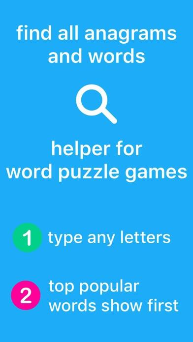 Anagrams: Unscramble Words by Julio Franco (iOS, United
