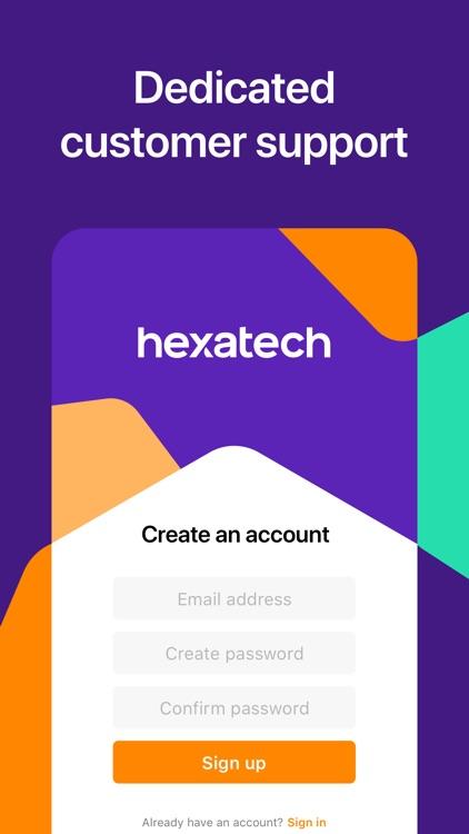 Hexatech: Unlimited VPN Proxy screenshot-4