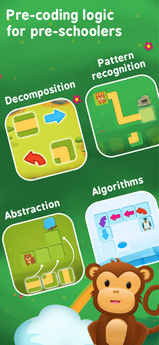 Pre-coding logic game for kids