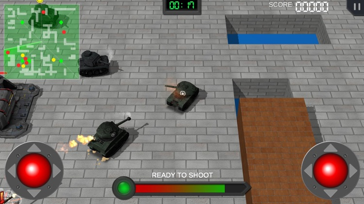 Clash of Mini Tanks screenshot-3