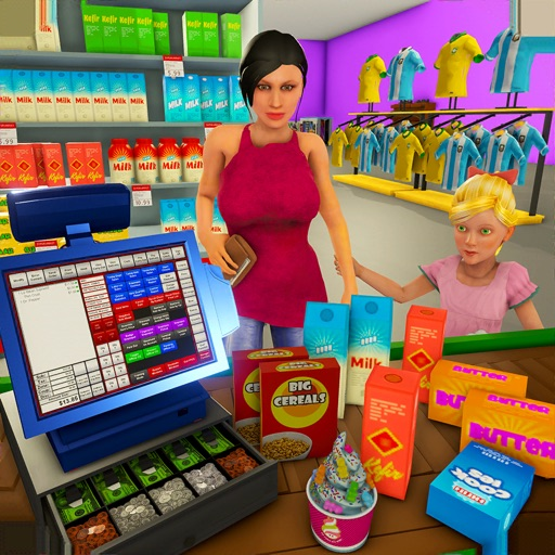 Supermarket Shopping Games 3D