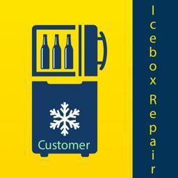 Icebox Repair Customer