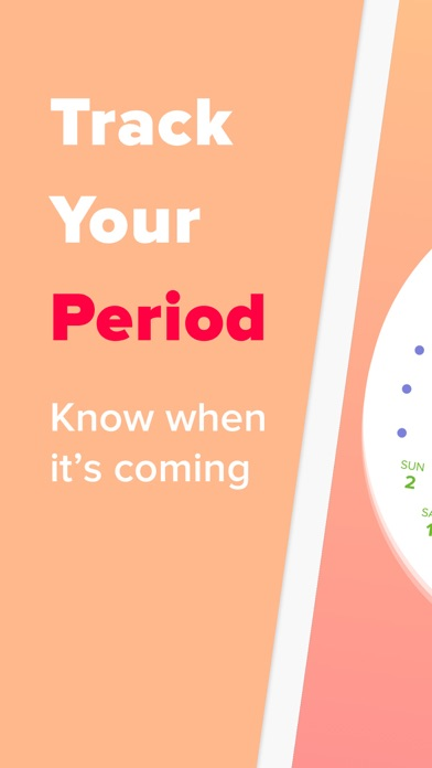 Period Tracker - Eve Screenshot