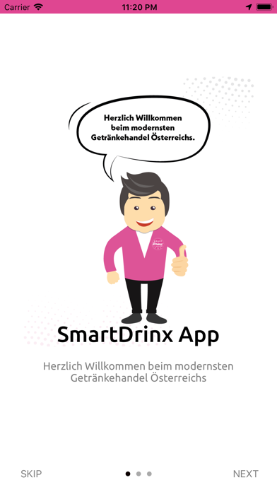 SmartDrinxScreenshot von 2