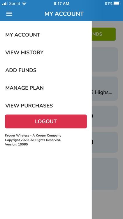 Kroger Wireless My Account screenshot-9
