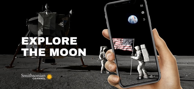 Apollo's Moon Shot AR Screenshot