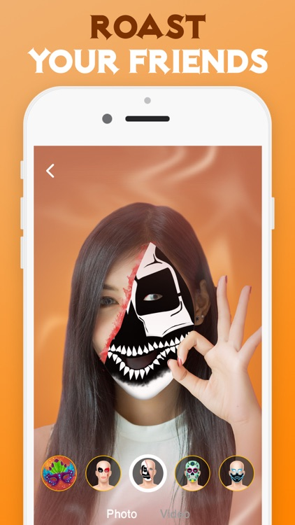 HujiCam: Face Filters Tik Tok screenshot-3