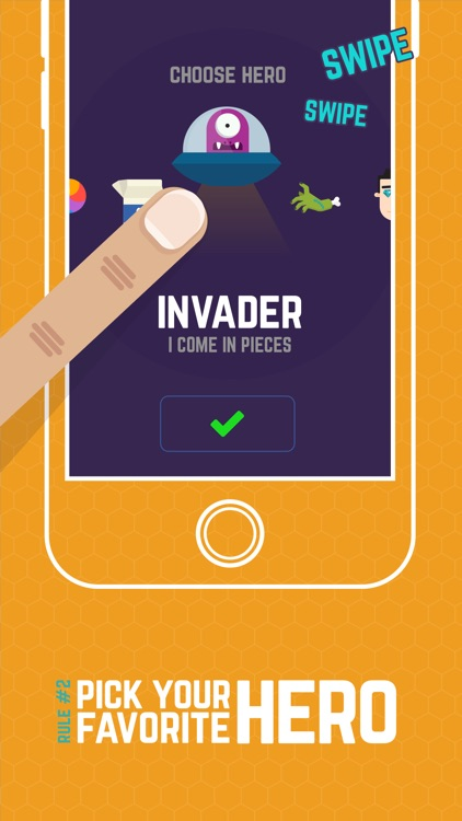 Finger Hero: Avoid Obstacles screenshot-1