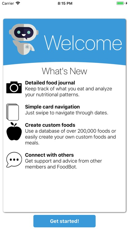 FoodBot Pro - Calorie Counter